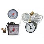 Манометры, термоманометры для электрических котлов