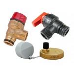 Предохранительные клапана, воздухоотводчики для газовых котлов