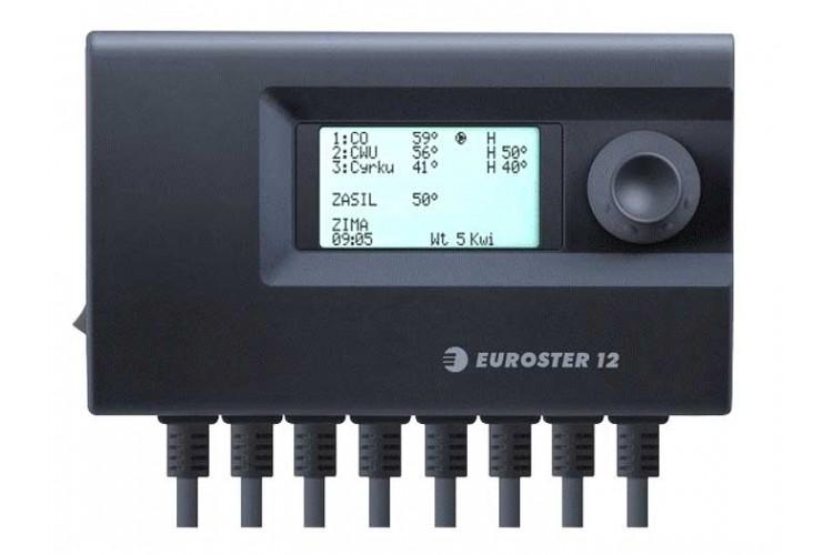 Блок управления для твердотопливного котла Euroster 12