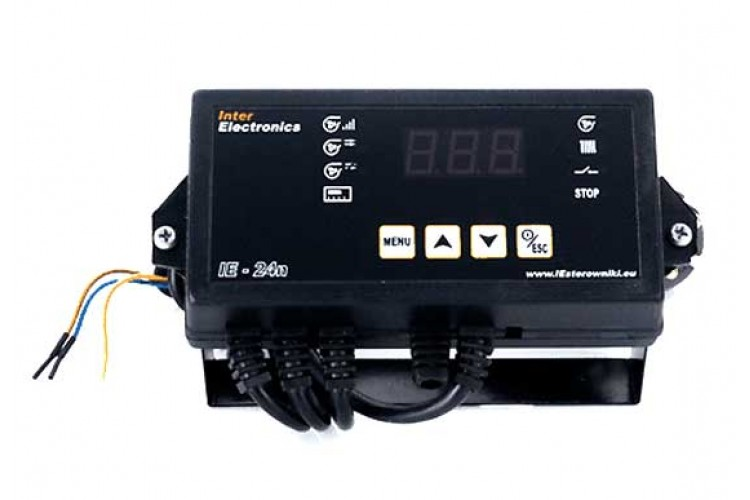 Блок управления для твердотопливного котла Inter Electronics IE-24n (v13)