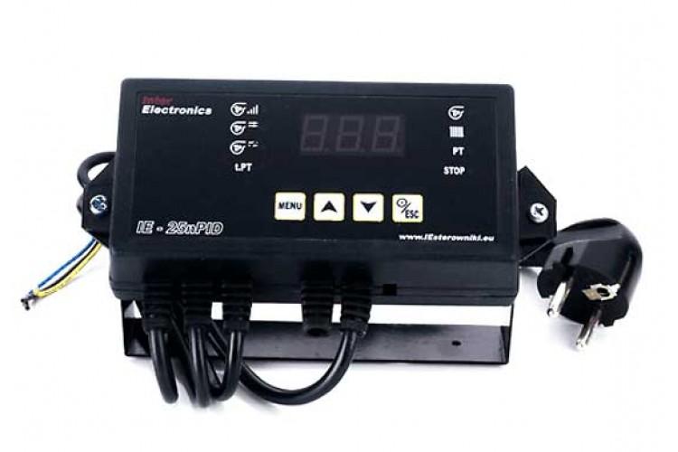 Блок управления для твердотопливного котла Inter Electronics IE-25nPID v14