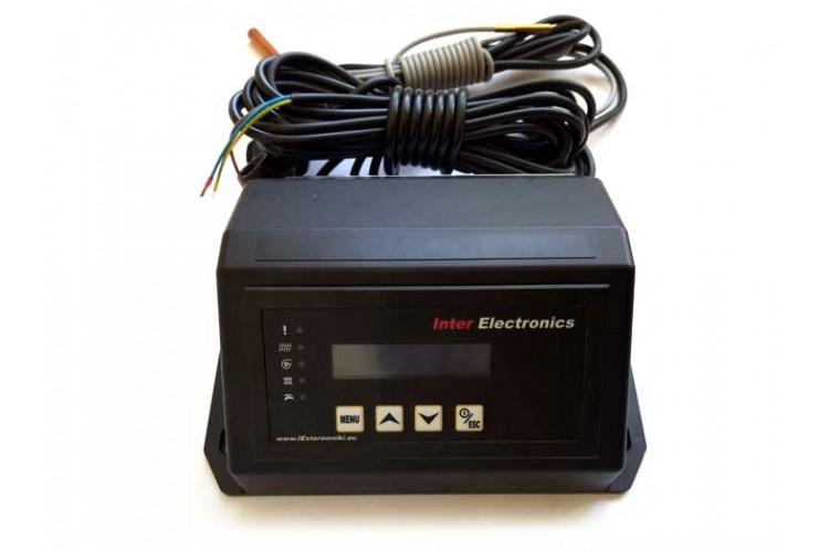 Блок управления для твердотопливного котла Inter Electronics IE-70 v1 T2 W (усиленный)
