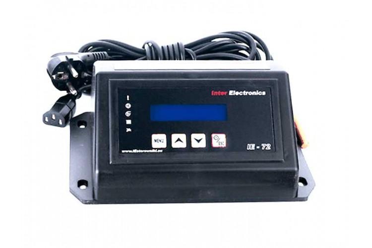 Блок управления для твердотопливного котла Inter Electronics IE-72 PID v1 T2