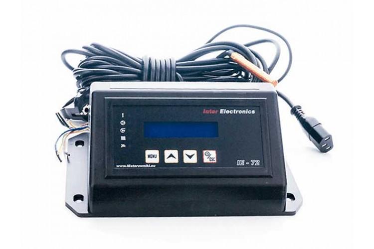 Блок управления для твердотопливного котла Inter Electronics IE-72 PID v2 T2 два насоса