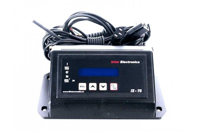 Блок управления для твердотопливного котла Inter Electronics IE-76 v1 T2