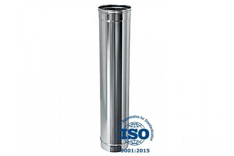 Дымоход из нержавеющей стали 1 м, Ø 250 мм, 0,6 мм