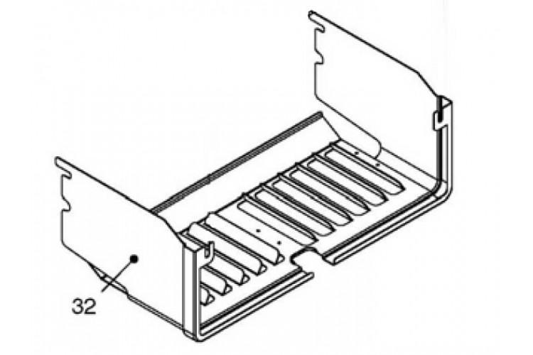 Решетка камеры сгорания газового котла Beretta Exclusive 28 CAI, 28 RAI
