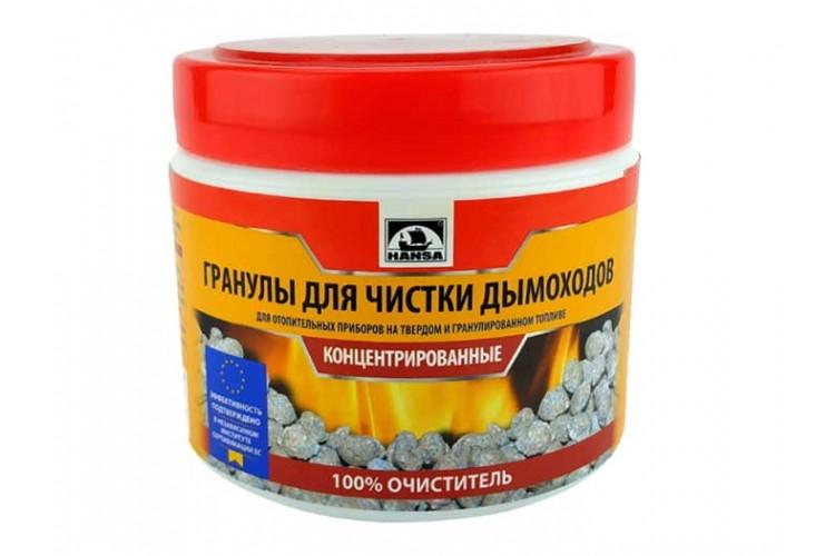 Средство гранулированное для удаления сажи Hansa 0,5 кг (в банке)