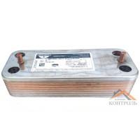 Теплообменник (ГВС) вторичный Termal D 14 пластин. Td24110044 (Италия)