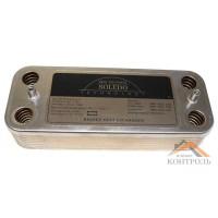 Теплообменник (ГВС) вторичный Ariston UNO 14 пластин. 995945