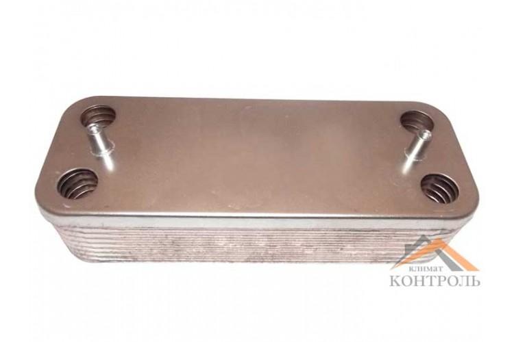 Пластинчатый теплообменник для котла Ariston Clas, Genus, BS 14 пластин