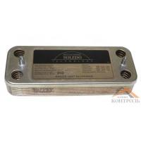 Теплообменник (ГВС) вторичный Ariston UNO 10 пластин. 995945