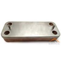 Теплообменник (ГВС) вторичный Ariston UNO 12 пластин. 995945