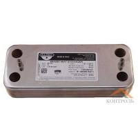 Теплообменник (ГВС) вторичный Ariston UNO 12 пластин. 995945 (Италия)