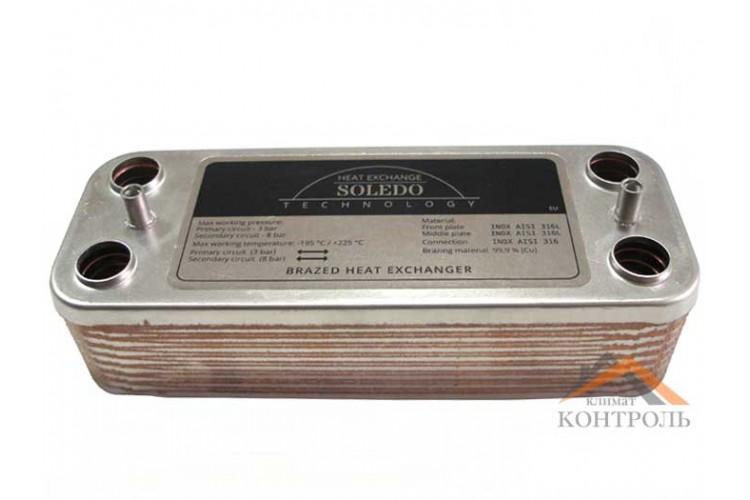 Пластинчатый теплообменник Beretta Super Exclusive, CITY 16 пл.