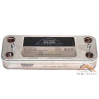 Теплообменник (ГВС) вторичный Demrad 12 пластин. 3003200027, 0020116522