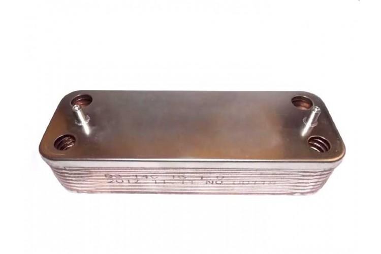 Пластинчатый теплообменник для котла Demrad 16 пластин