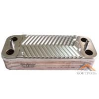 Теплообменник (ГВС) вторичный Immergas Mini, Victrix 14 пластин. 1.022220