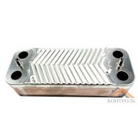Теплообменник (ГВС) вторичный Immergas Mini, Victrix 16 пластин. 1.022221