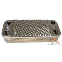 Теплообменник (ГВС) вторичный Immergas Mini, Victrix, Special 12 пластин. 1.022220