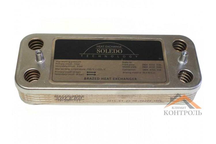 Пластинчатый теплообменник Nobel Plus NB 2-24 10 пл.