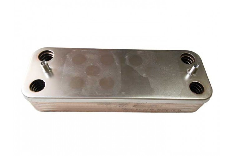 Пластинчатый теплообменник для котла Protherm Lynx 12 пластин