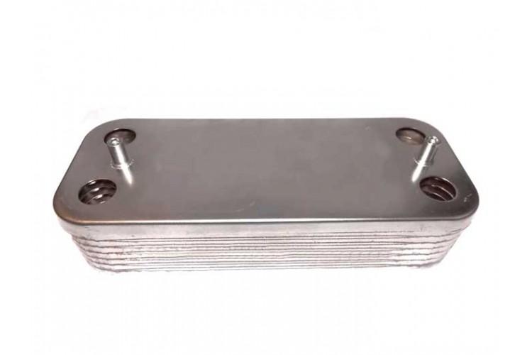 Пластинчатый теплообменник для котла Protherm Пантера v15, v17 14 пластин