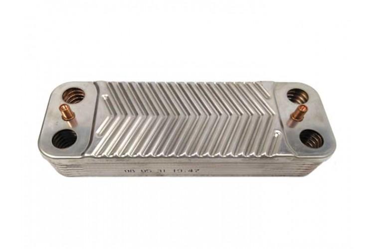 Пластинчатый теплообменник для котла Protherm Тигр 14 пластин