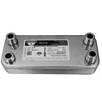 Теплообменник (ГВС) вторичный Vaillant Atmo Max, Turbo Max Pro/Plus 24 kw 12 пластин. 065131, 065088 (Италия)