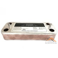 Теплообменник (ГВС) вторичный Viessmann Vitopend 100 WH1B 12 пластин. 7825533