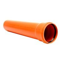 Труба для наружной канализации 110х2,2х1000 Инсталпласт