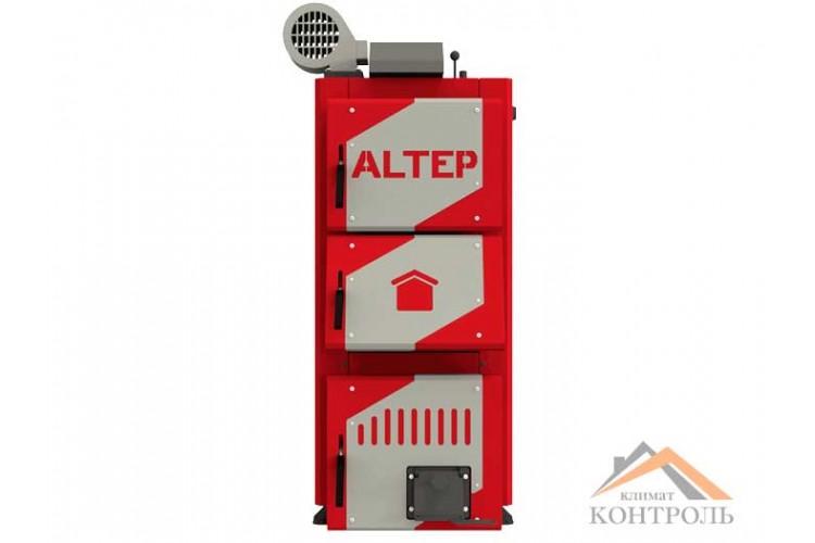 Котел на твердом топливе Altep Classic Plus 24 кВт, автоматика