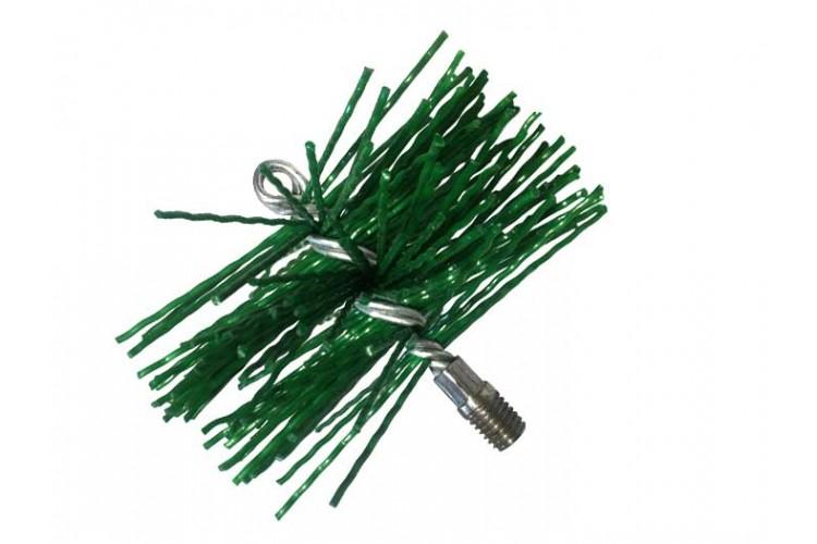 Щетка пластиковый для чистки дымохода 125 мм