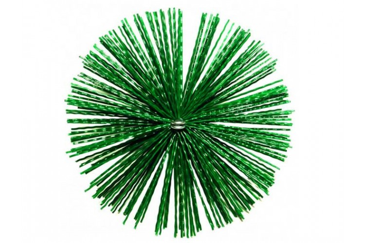 Щетка пластиковый для чистки дымохода 500 мм